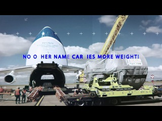 ANTONOV Airlines - No other name carries more weight!