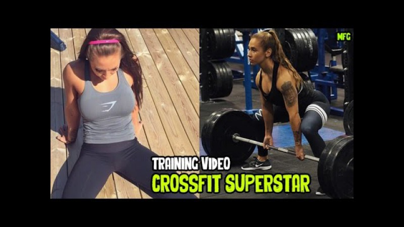 SUZANNE SVANEVIK Crossfit Superstar CrossFit Training and Weighlifting Workouts @ Norway