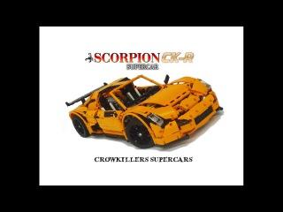 Crowkillers Custom Lego Technic 1:8 Scale Scorpion CK-R Supercar