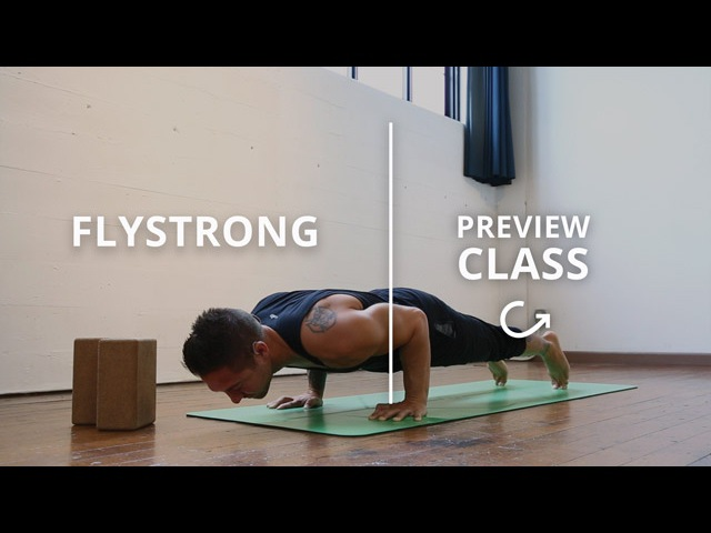 Strength Basics for Inversions Arm Balances by Dylan Werner Yoga