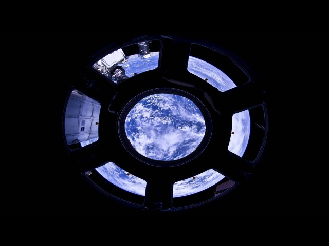 360° view from the Cupola International Space Station 1080p HD