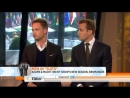 Gabriel Macht and Patrick J. Adams on The Today Show 7 16 13