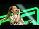 Эта девушка очень классно спела песню Hurt на шоу Голос Дети в Германии