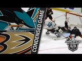 San Jose Sharks vs Anaheim Ducks R1, Gm1 apr 11, 2018 HIGHLIGHTS HD