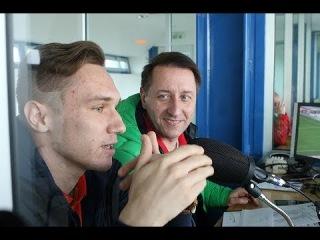 Никита Глушков побывал в роли комментатора