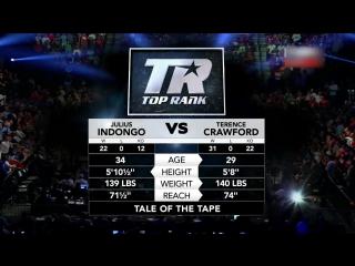 Терренс кроуфорд / джулиуса индонго terence crawford / julius indongo (full fight) hd