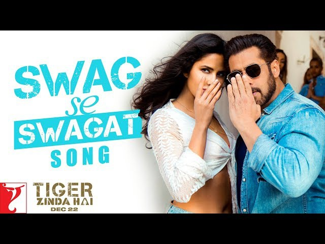 Swag Se Swagat   Song   Tiger Zinda Hai   Salman Khan, Katrina Kaif   Vishal Shekhar, Irshad, Neha