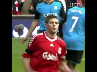 Liverpool FC - _Hat-trick for Steven Gerrard. 2 penalties and Liverpool have 5 for the day!_  #OnThi