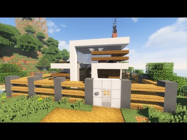 как построить механический дом в майнкрафте #3
