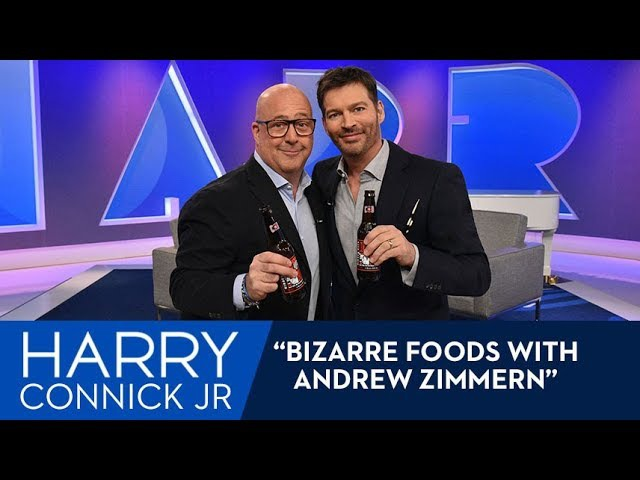 Andrew Zimmern Brings Harry Bizarre Foods