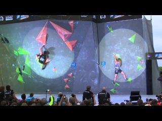 Shauna Coxsey  4/4 all flash - IFSC World Cup in Munich 2015