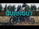 БЕРНАУТ НА FALCON SPEEDFIRE 250 | BURNOUT MOTO