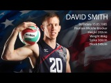 David Smith USA Middle Blocker Volleyball Highlights Champions Cup 2017