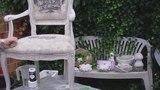 Aus Alt mach Neu - Einen alten Stuhl in shabby chic umgestalten