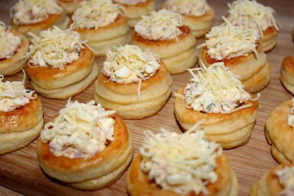 Волованы с ветчиной и сыром, изображение №13