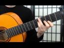 Vicente Amigo Roma guitar tutorial