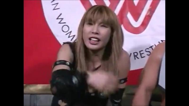 Michiko Omukai, Koji Kanemoto vs. Kia Stevens, Makai Majo Tsunogo (2)