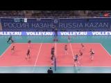 Волейбол Женщины чемпионат России Динамо-Казань - Заречье 28_01_2018