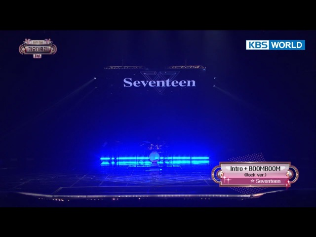 SEVENTEEN - Intro Boom Boom [2017 KBS Song Festival | 2017 KBS 가요대축제 / 2017.12.29]