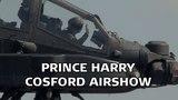 Prince Harry Displays Apache Cosford 2013