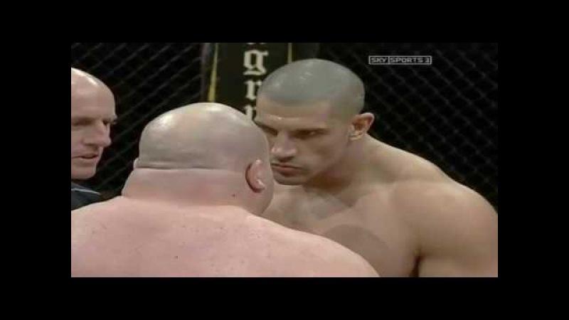 INCREDIBLE MMA FIGHT! CRAZY BULL vs BUTTERBEAN. CRAZIEST MMA FIGHTS by MMA EMPIRE!