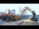 Hydrema 926D With Engcon Rototilt Demonstration
