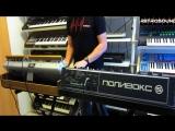 Moog Minimoog vs. ПОЛИВОКС синтезатор Polivoks Synthesizer - sound battle