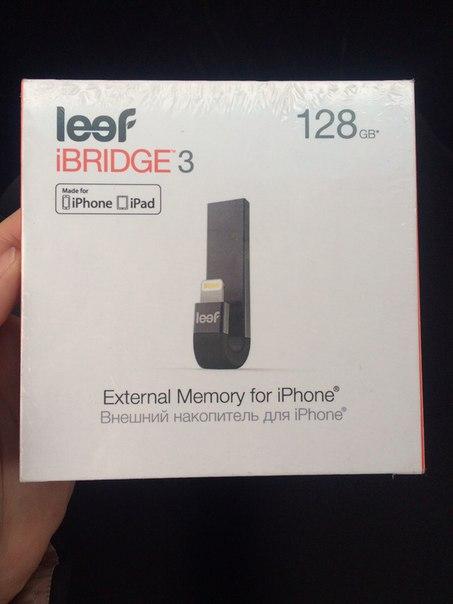 Продам iBridge leef 3, 128 Gb,