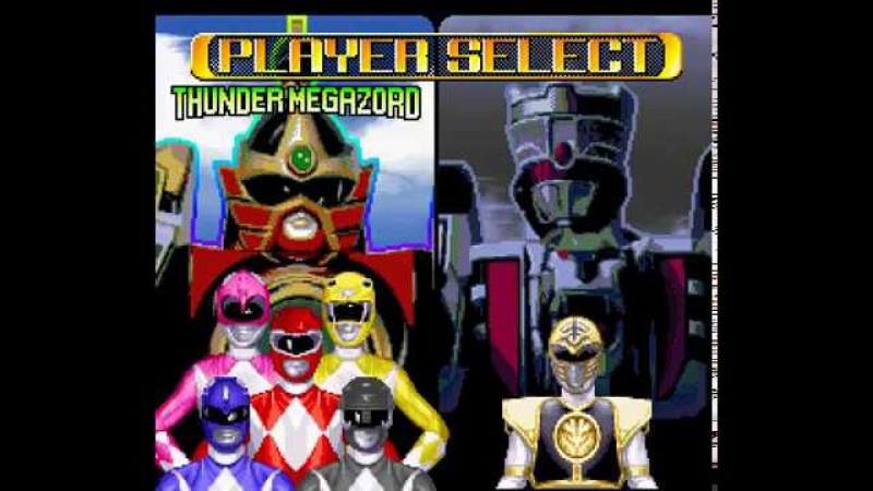 Mighty Morphin Power Rangers - The Fighting Edition (SNES) - Hard difficulty