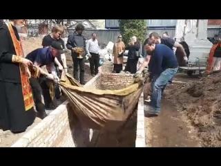 Захоронение останков. Храм Вознесения Христова в Кадашах
