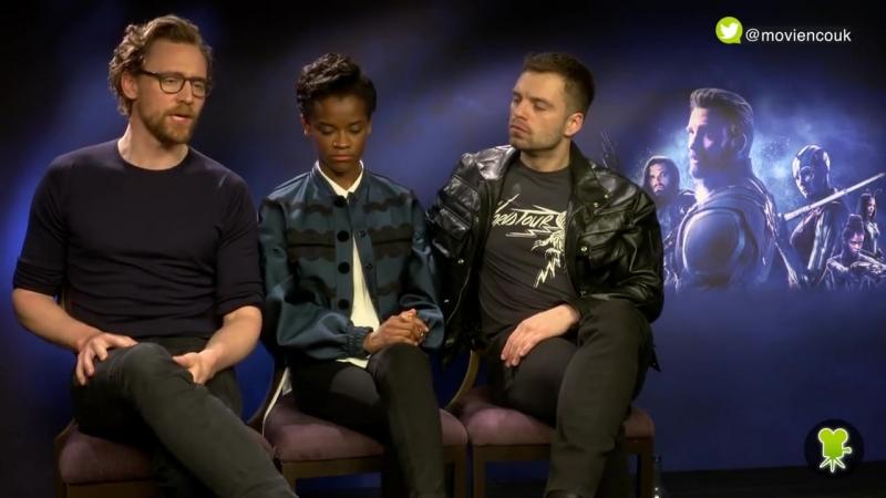 Интервью для Movie'n'co UK в рамках промоушена фильма Мстители Война бесконечности в Лондоне Великобритания 9 04 18