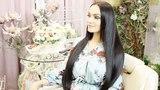 """Alena Vodonaeva on Instagram: """"Уже месяц хожу с такой длиной волос и всё забываю вам показать, как это выглядит в реале. На фотках одно, а на видео..."""
