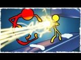 [Quantum Games] ЛАЗЕР VS ЧЕЛОВЕЧЕК В STICK FIGHT THE GAME!!!