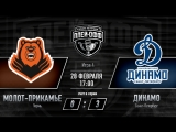 «Молот-Прикамье» Пермь - «Динамо» СПб. Игра #4