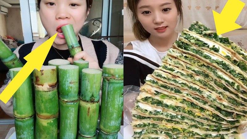 EATING SHOW COMPILATION-CHINESE FOOD-MUKBANG-Greasy Chinese Food-Beauty eat strange food-NO.6