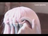 Очень нежный водопадик из волос. Как тебе идея