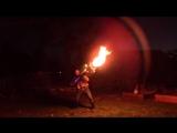 Oгнемет Илона Маска выглядит как игрушка рядом с этим  огненным торнадо