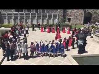 Случайно попали на концерт,в котором детский ансамбль красиво исполнял,наши грузинские национальные танцы 😍