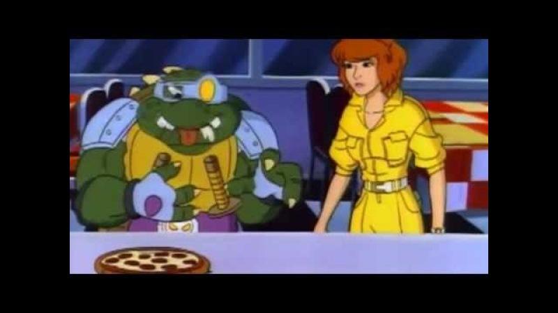Teenage Mutant Ninja Turtles Season 4 Episode 18 Slash The Evil Turtle from Dimension X
