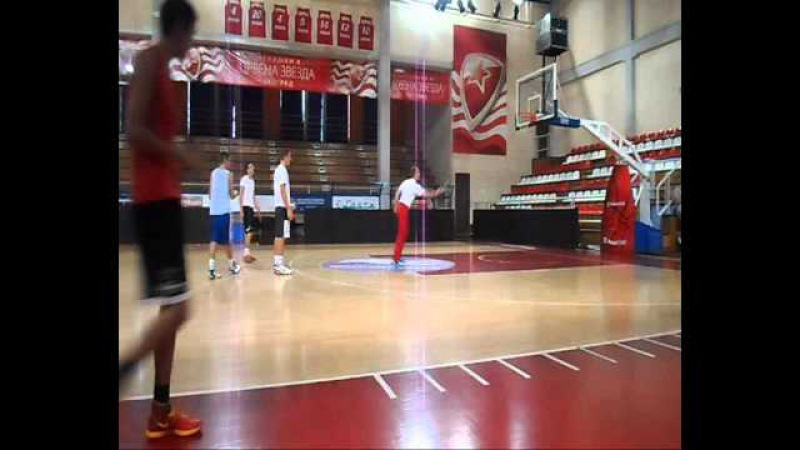 Footwork and Coordination Drills for Basketball by coach Branko Karale Fmp Red Star