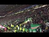 Celtic vs Barcelona Last Christmas - Wham - George Michael