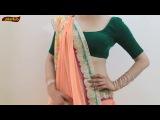 How To Wear Sari Hot Like Madhuri Dixit Style ll Bollywood Saree Drape Tutorial 2018
