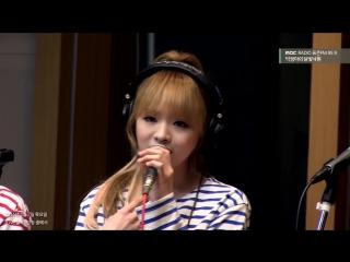 160407 Moonlight paradise Hyojung  JinE - I Wont Love