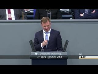 Dirk spaniel (afd) gestern hat herr hofreiter die komplette deutsche