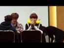 FANCAM | 20.04.18 | Chan @ UNB 3rd Fansign Arte Hall TCC Art Center