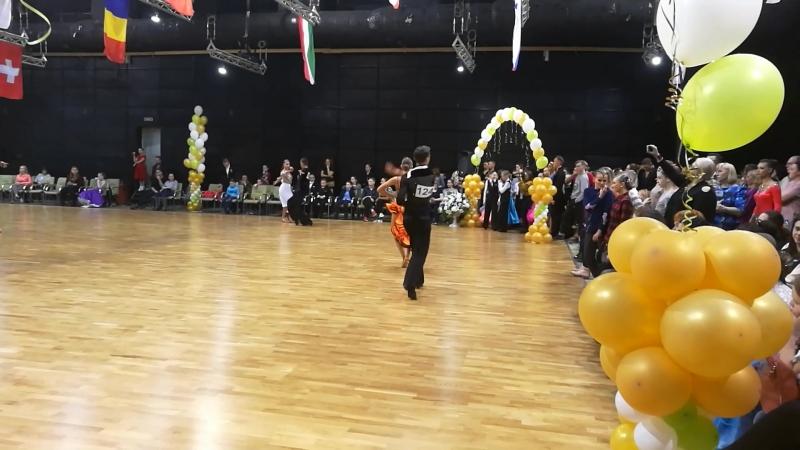 Международные соревнования по спортивным танцам XXIII- Петербургский бал 01.04.2018