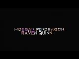 Morgan Pendragon &amp Raven Quinn ever after high