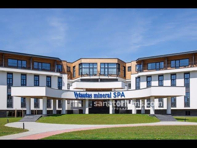 спа отель Vytautas mineral SPA Бирштонас Литва