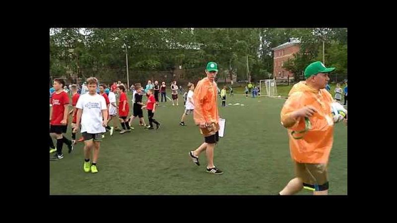 Чкаловский 2006 - Сказ (9:0) 2 тайм Турнир по дворовому футболу Метрошка 2017