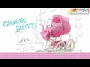 Spring Flower Classic Pram by HAUCK TOYS FOR KIDS